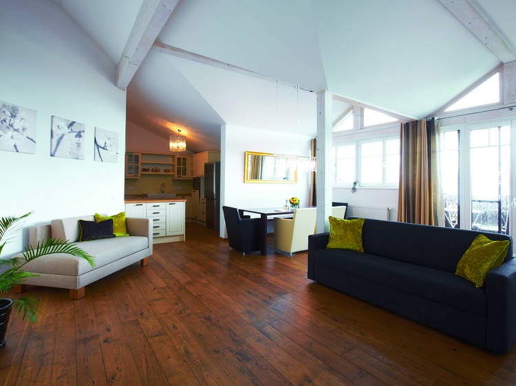 Penthouse-Appartment, <a href=
